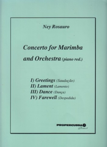 Image for Concerto for Marimba and Orchestra - Marimba & Piano