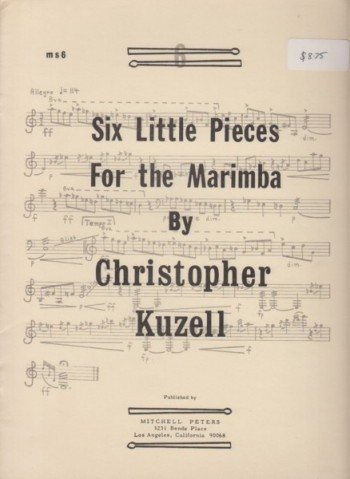 Image for Six Little Pieces for the Marimba
