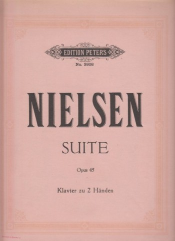 Image for Suite for Piano, Op.45