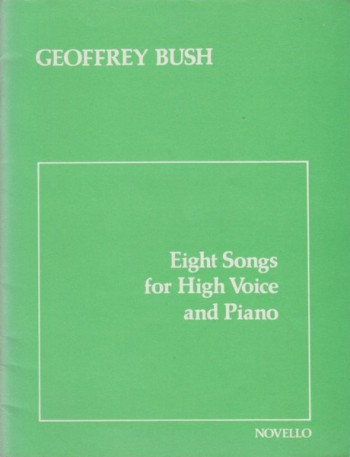 Image for Eight Songs for High Voice and Piano