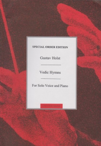 Image for Vedic Hymns for Solo Voice (Mezzo-Soprano or Baritone) and Piano