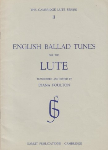 Image for English Ballad Tunes for the Lute
