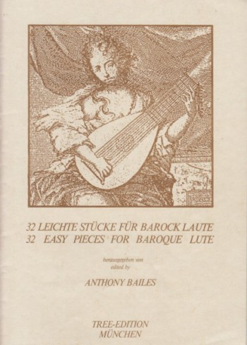 Image for 32 Easy Pieces for Baroque Lute