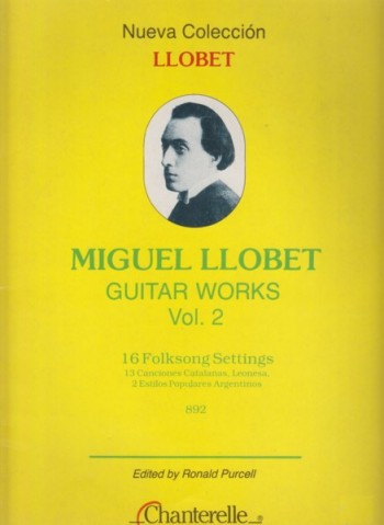 Image for Guitar Works Vol.2 - 16 Folksong Settings