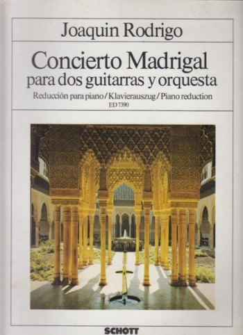 Image for Concierto Madrigal for Two Guitars and Orchestra - 2 Guitars & Piano
