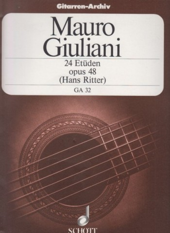 Image for 24 Studies for Guitar, Op.48