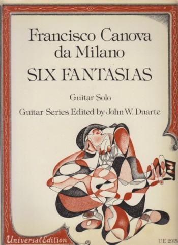 Image for Six Fantasias for Guitar Solo