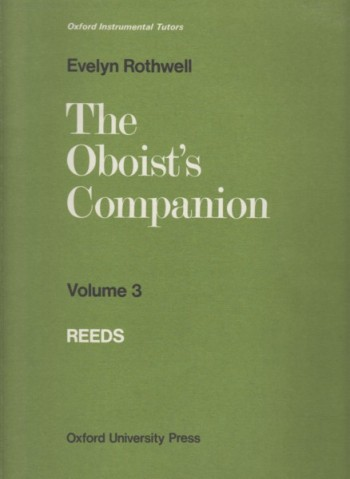 Image for The Oboist's Companion Volume 3 - Reeds