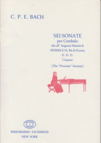 "Image for Sei Sonate per Cembalo ""Prussian"" - Facsimile Edition"
