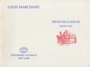 Image for Pieces de Clavecin, Premier Livre - Facsimile Edition