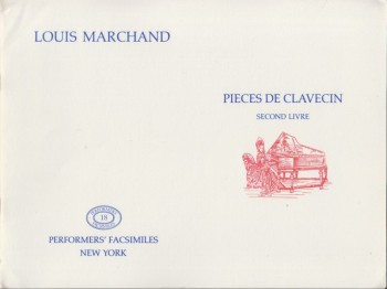 Image for Pieces de Clavecin, Second Livre - Facsimile Edition