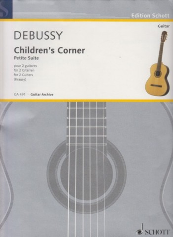 Image for Children's Corner Suite for 2 Guitars