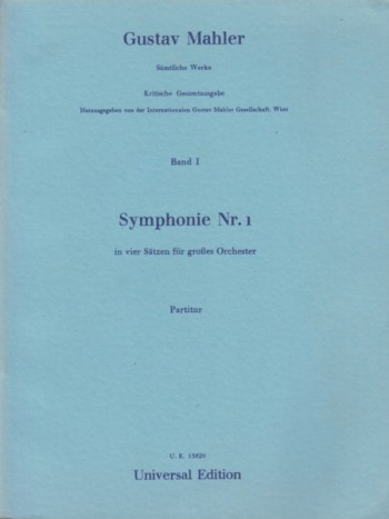 Image for Symphony No.1 - Study Score