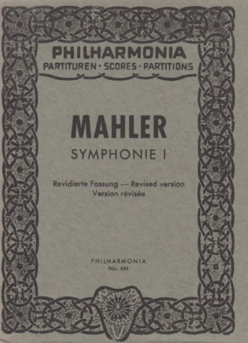 Image for Symphony No.1, Revised Version - Study Score