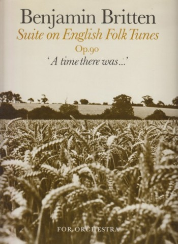 Image for Suite on English Folk Tunes, Op.90 'A time there was...' - Full Score