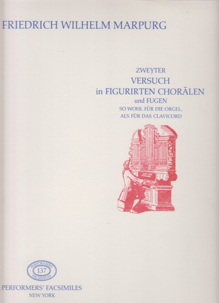Image for 15 Chorales Variés and Fugues for Organ or Harpsichord - Facsimile Edition