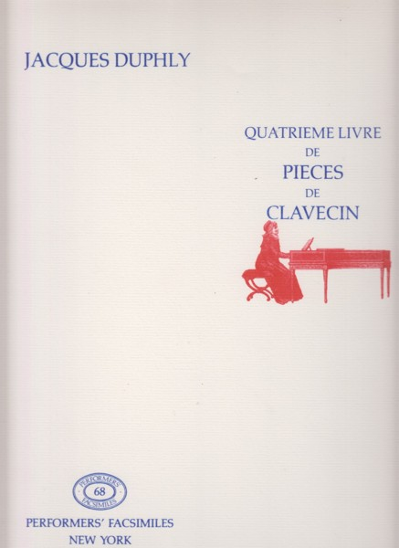 Image for Quatrieme Livre de Pieces de Clavecin - Facsimile Edition