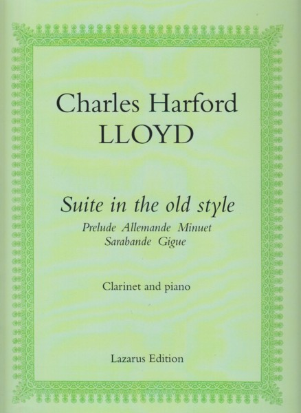Image for Suite in the Old Style - Clarinet in B flat & Piano