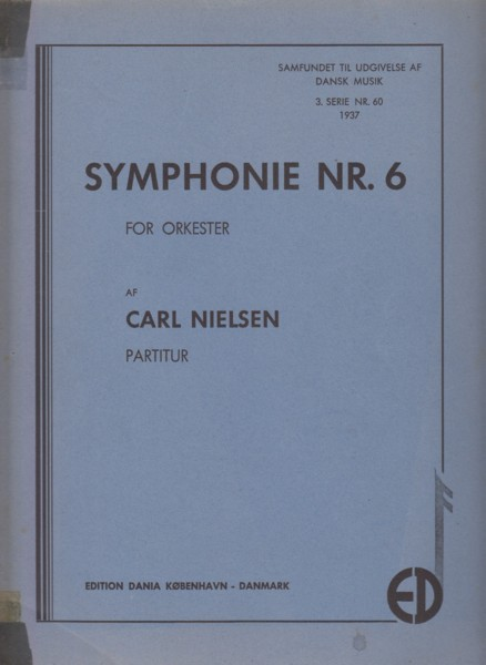 "Image for Symphony No.6 ""Sinfonia Semplice"" - Full Score"