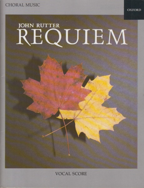 Image for Requiem - Vocal Score