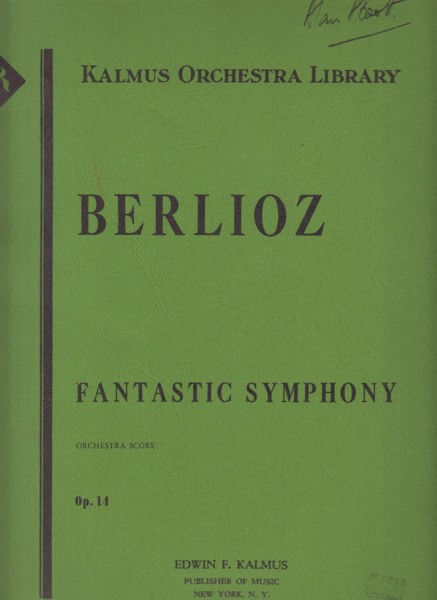 Image for Symphonie Fantastique, Op.14 - Full Score