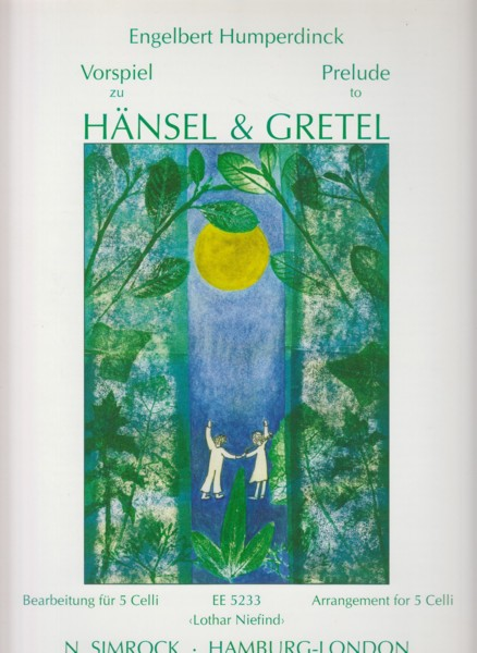 Image for Prelude to Hansel & Gretel for 5 Cellos - Score & Parts