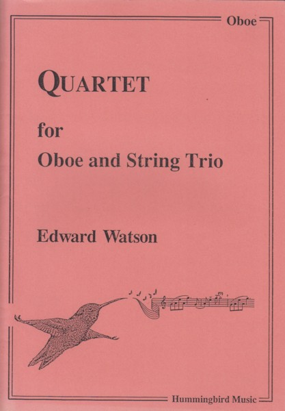 Image for Quartet for Oboe and String Trio - Full Score & Set of Parts