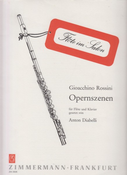 Image for Opernszenen for Flute and Piano