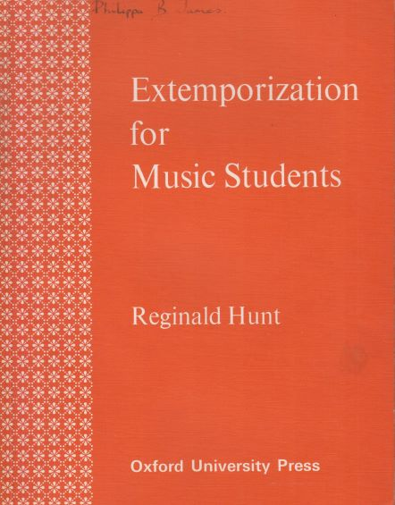 Image for Extemporization for Music Students