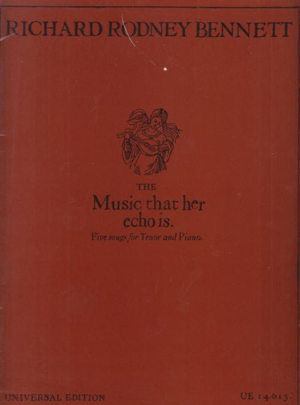 Image for The Music that her echo is - Five Songs for Tenor & Piano