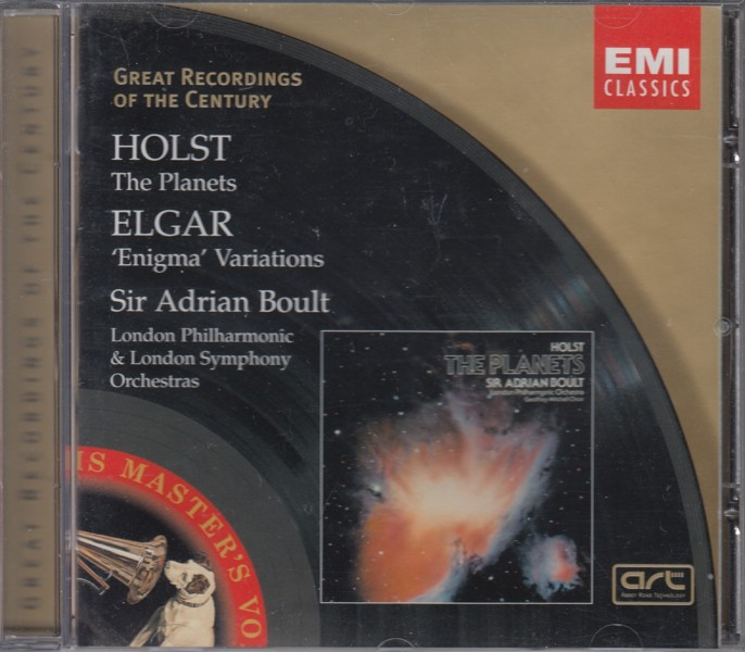 Image for The Planets; Elgar: 'Enigma Variations'
