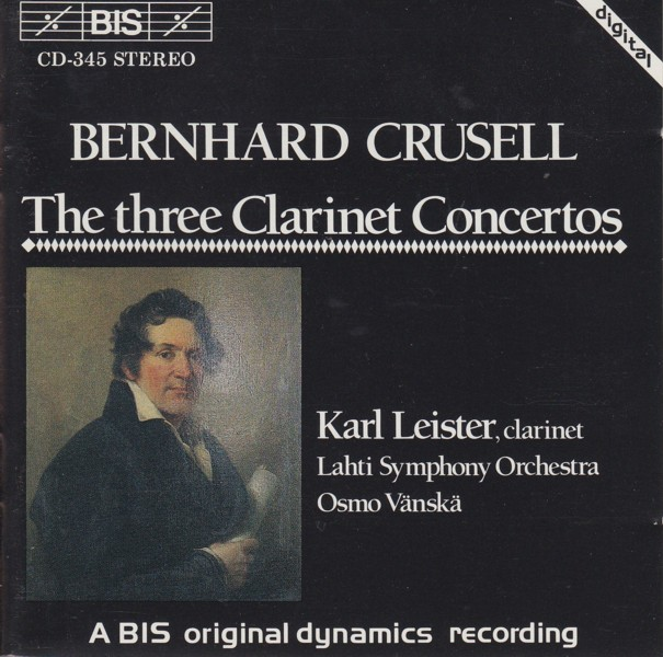Image for Three Clarinet Concertos