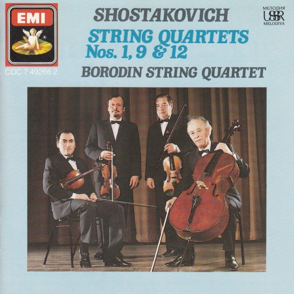 Image for String Quartets 1, 9 & 12