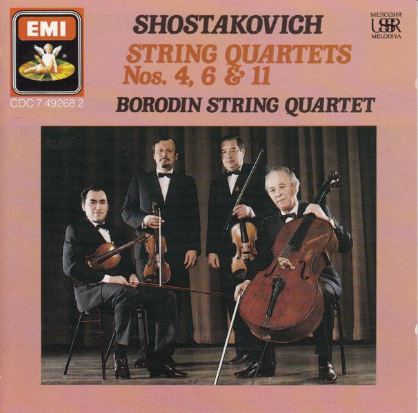 Image for String Quartets 4,6 & 11