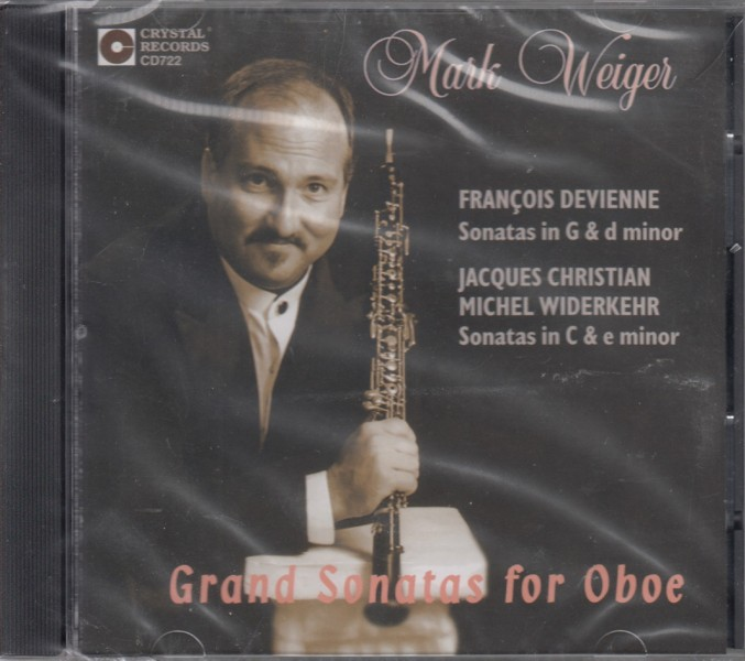 Image for Grand Sonatas for Oboe