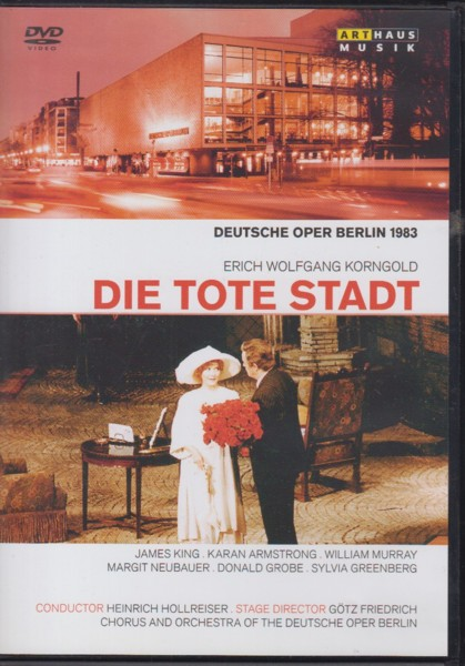 Image for Die Tote Stadt - DVD